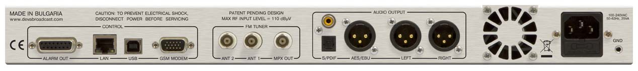 DB4004 - FM Radio Modulation Monitor & Monitoring Receiver