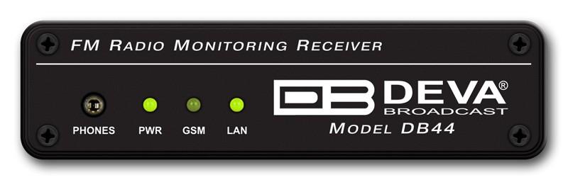 DB44 - Récepteur & Monitoring FM