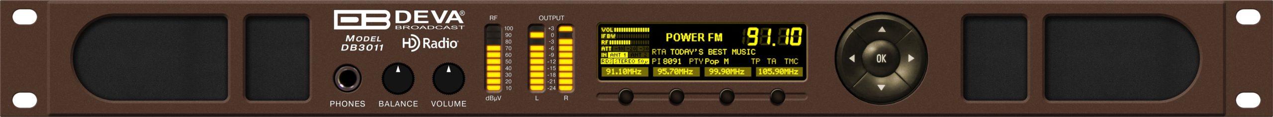 Récepteur Monitoring FM et IP HD