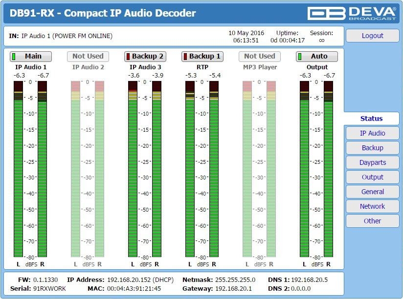 DECODEUR DB90-RX
