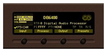 ADVANCED FM AND DIGITAL RADIO 4-BAND AUDIO PROCESSOR WITH BACKUP AUDIO PLAYER