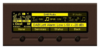 DB7012 - Professional DSP-based DAB/DAB+ Monitoring Receiver